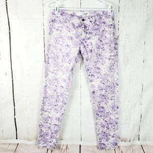 4/$20 Joe fresh tie dye pants Size 6